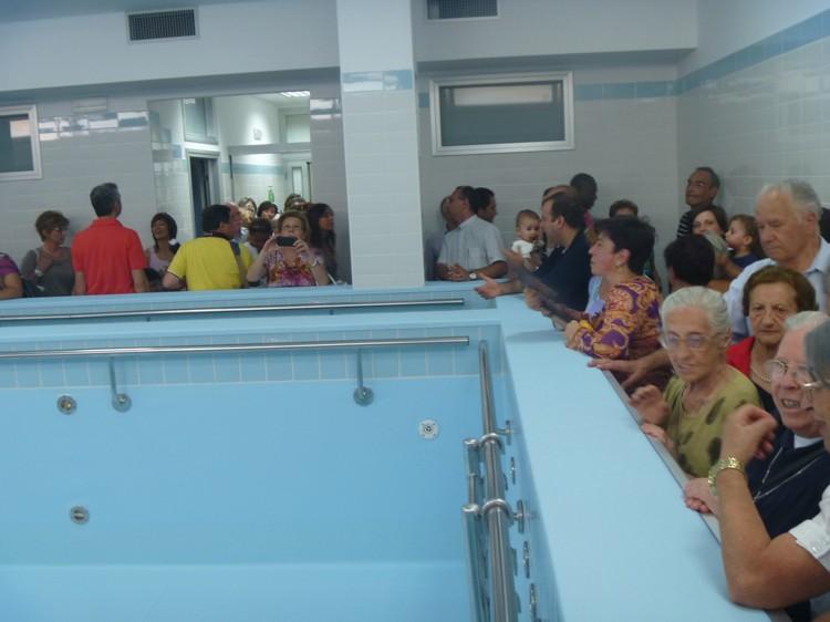 Don orione savignano irpino inaugurato ambulatorio di riabilitazione e piscina idroterapica - Piscina seven savignano ...