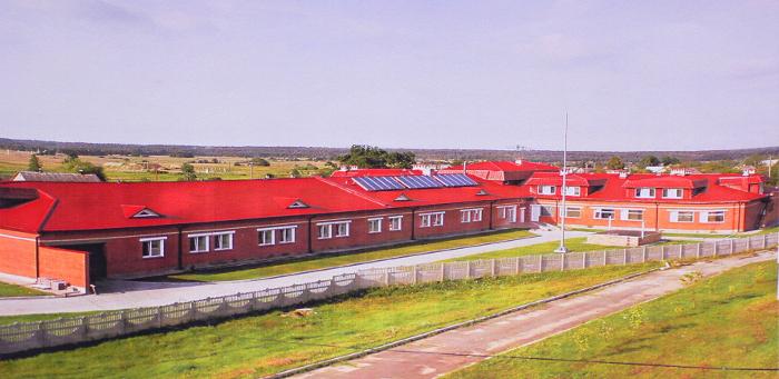 La Casa di carità a Lahiszyn (Bielorussia)
