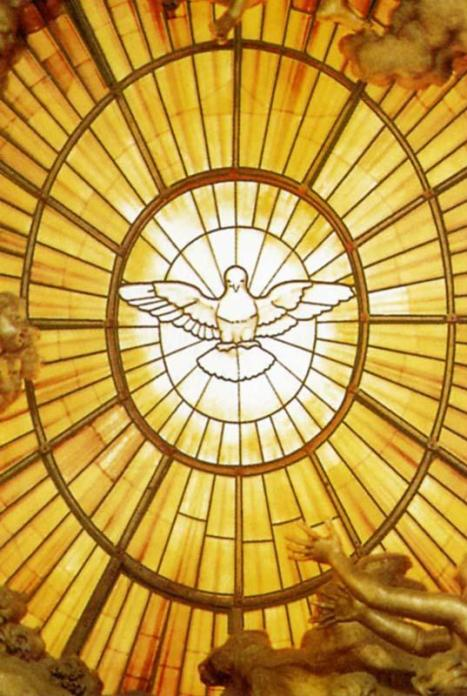 Lo Spirito Santo della Gloria di Bernini