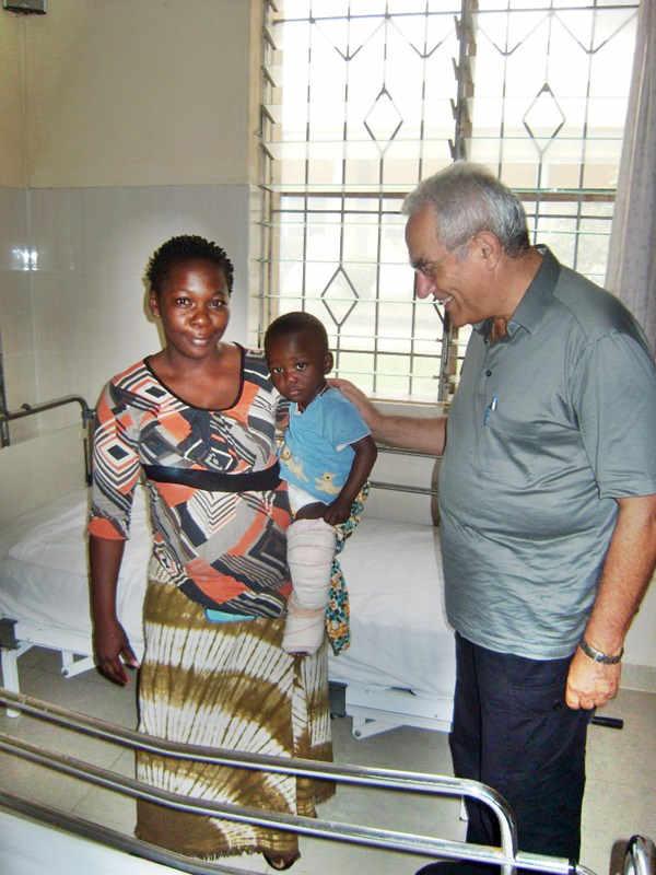 Visita al Centro pour Handicapés di Bonoua