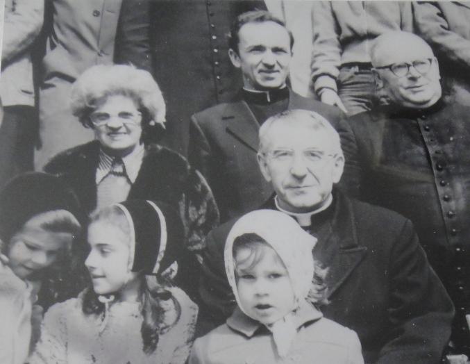 Don Klis con il patriarca Albino Luciani e Don J. Jozefiak