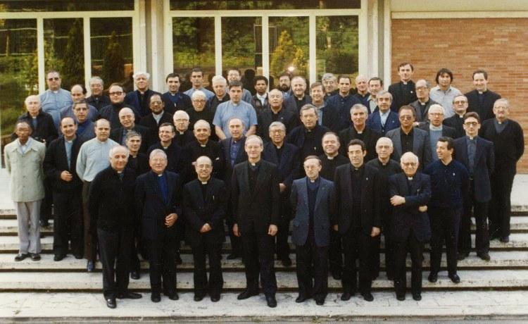 Ariccia (RM), 1992. Padri Capitolari al X Capitolo Generale