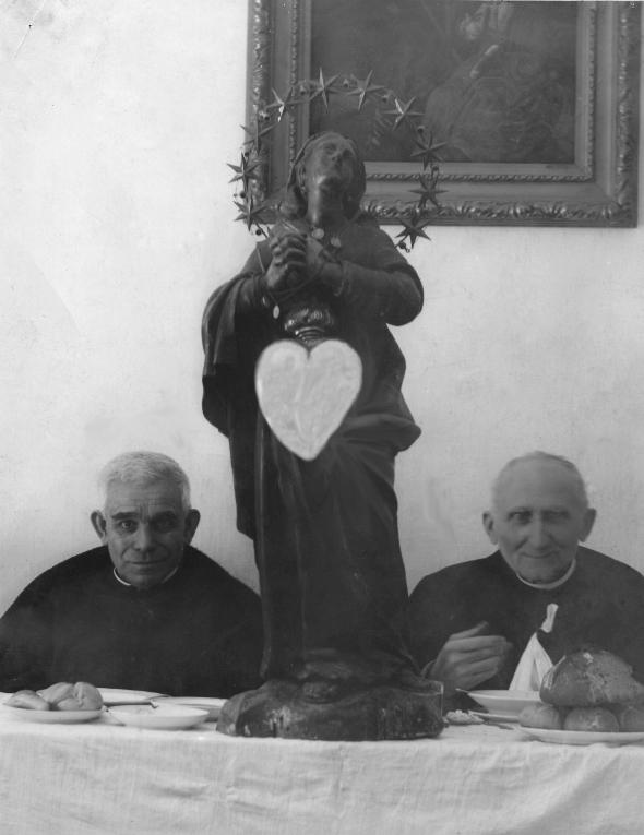 Tortona - Paterno, 6 marzo 1949, Don Orione, la Madonna, Don Perduca.
