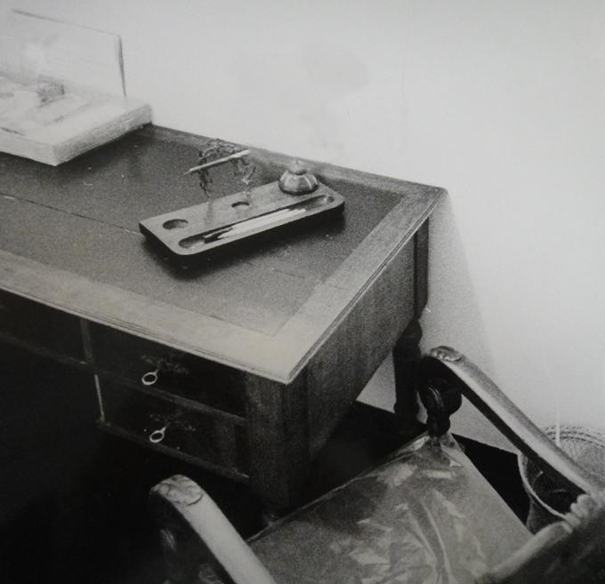 Lo scrittoio nella cameretta, 1940