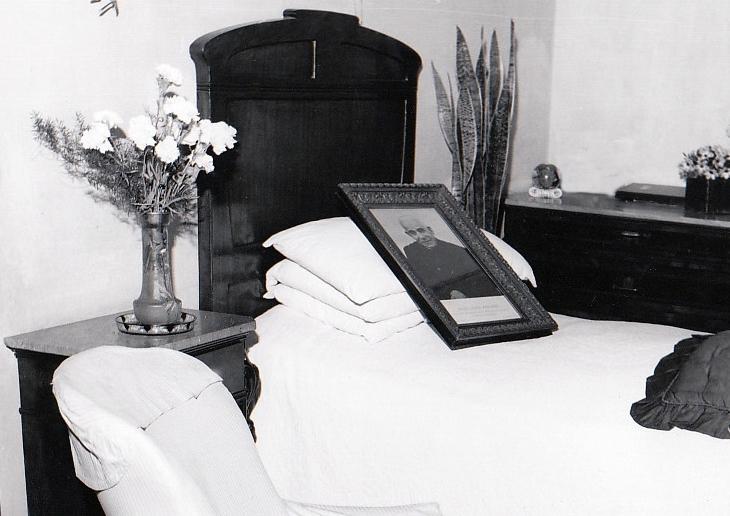 La cameretta di Don Orione a Villa Santa Clotilde.