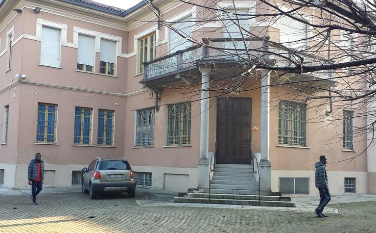 L'ingresso di Villa Pedevilla