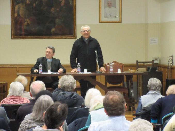 La conferenza di Don Flavio Peloso