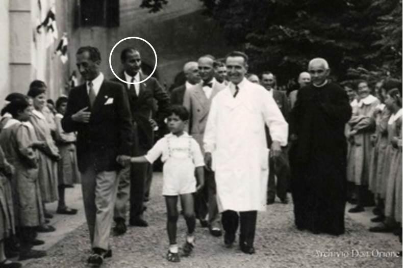 Malcovati al seguito di Don Orione (Genova, Paverano 1938)