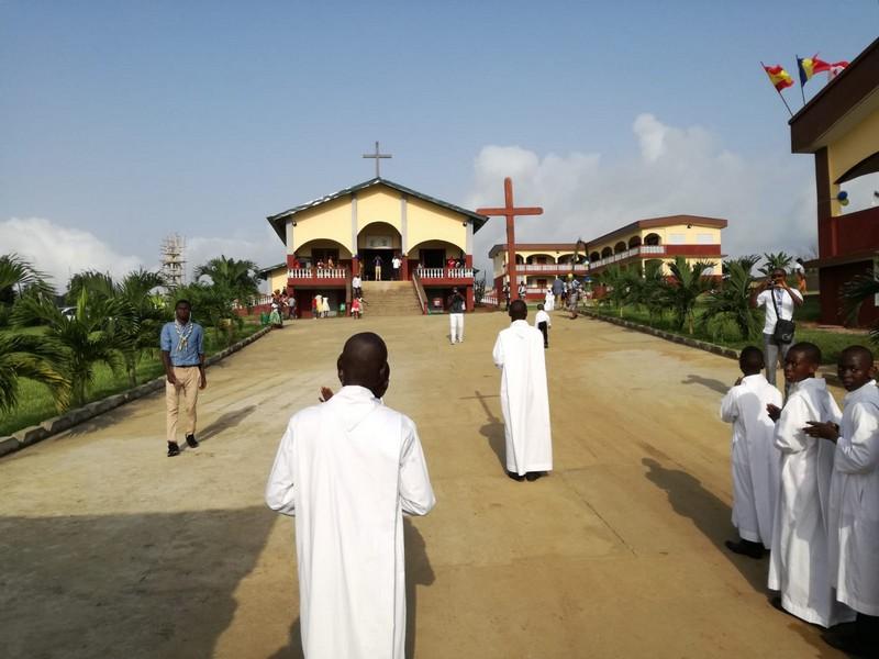 La nuova cappella dedicata alla Madonna della Divina Provvidenza