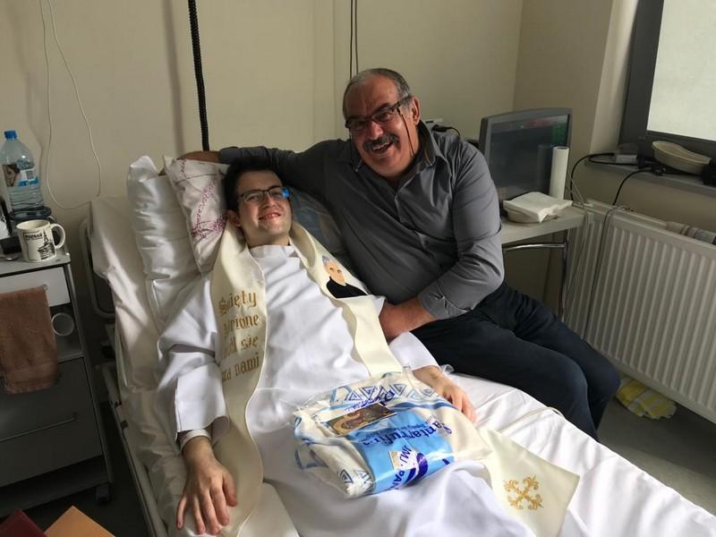 Don Michał con il suo papà