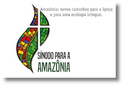 Risultati immagini per sinodo per l'amazzonia logo