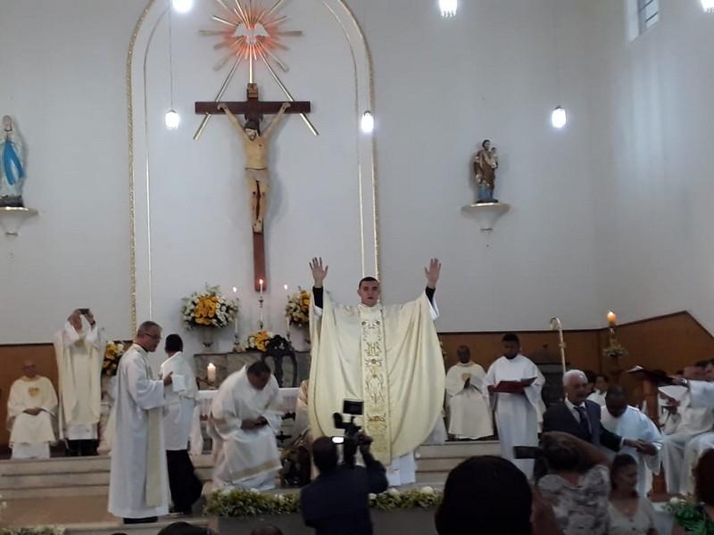 Ordinazione sacerdotale del diacono Getulio Assis Arruda