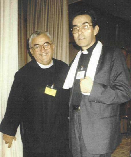 Don Oreste Benzi e Don Flavio Peloso