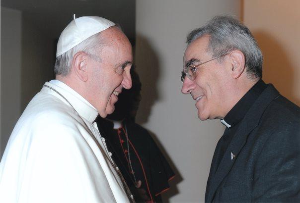 Con Papa Francesco